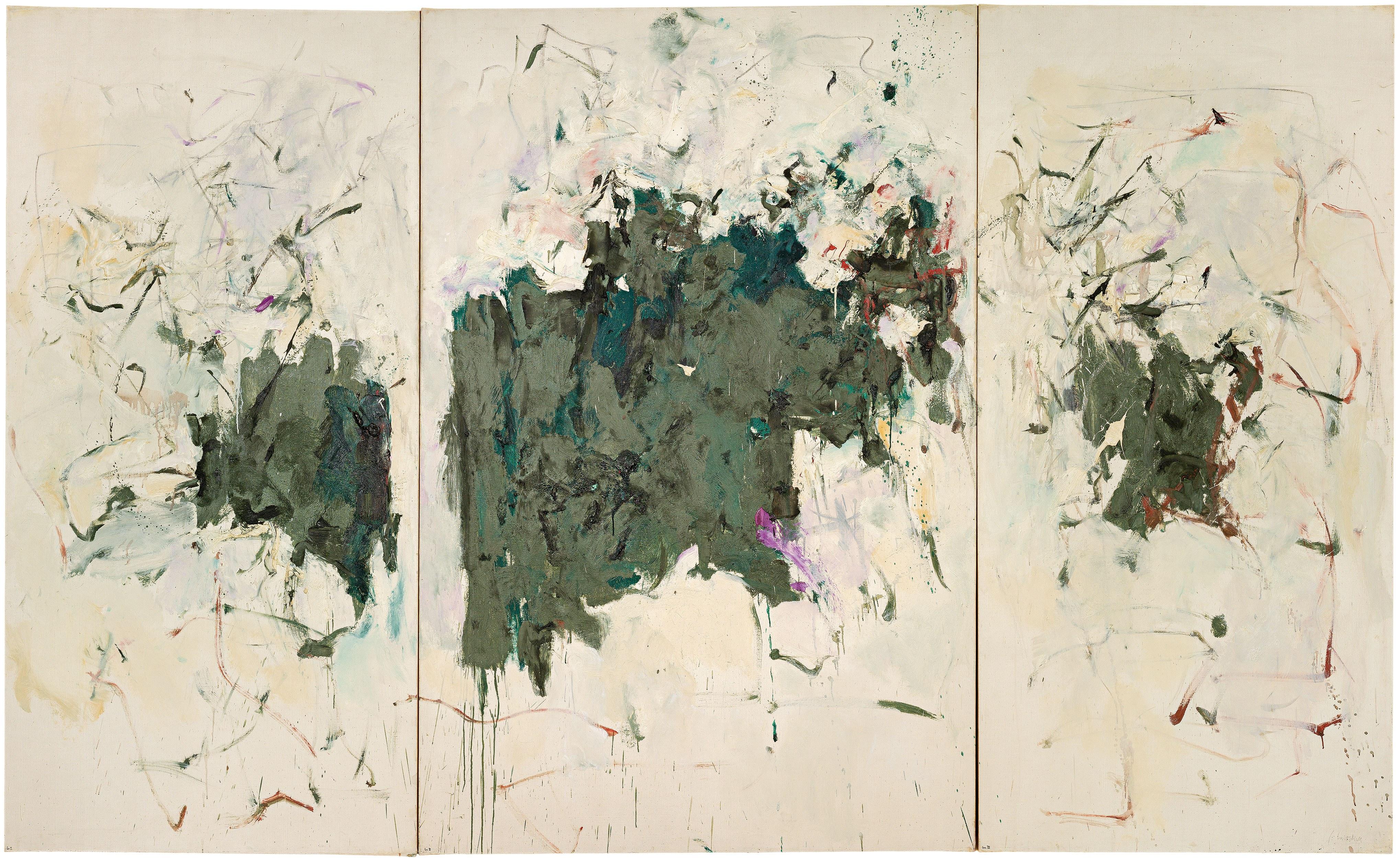 Girolata Triptych, 1963
