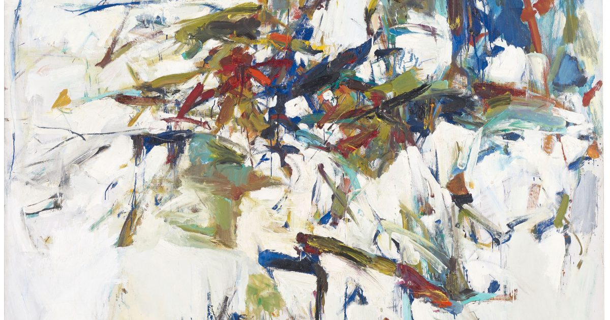 George Went Swimming at Barnes Hole, but… | Joan Mitchell Foundation